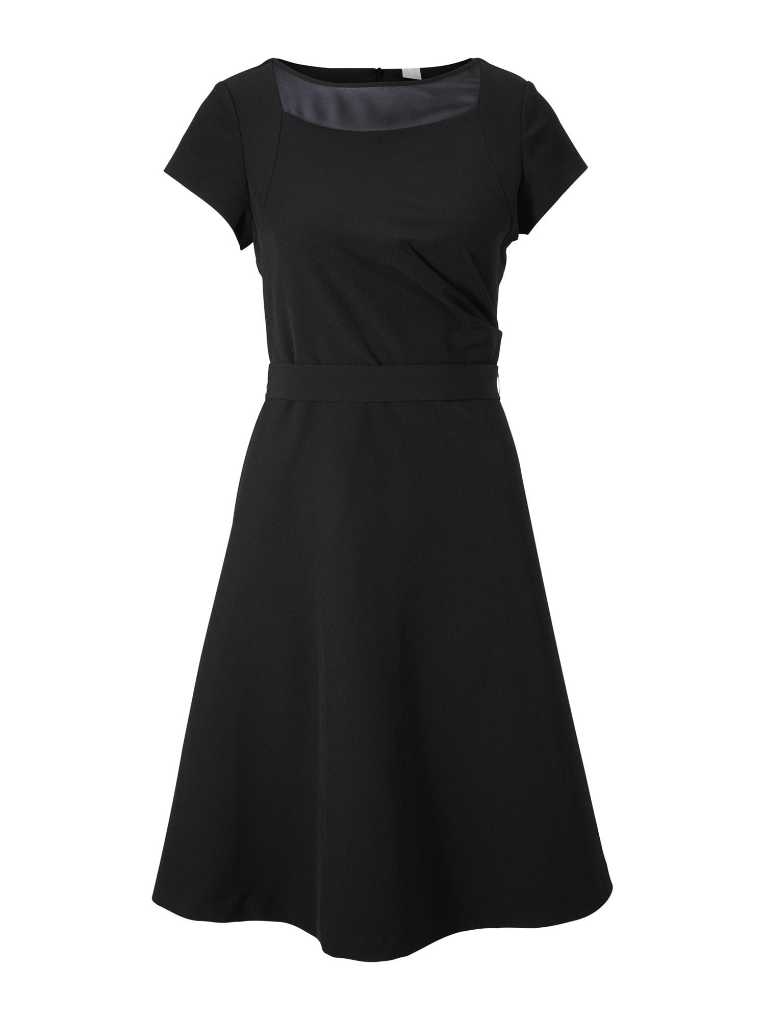 heine Kokteilové šaty 'Timeless'  čierna