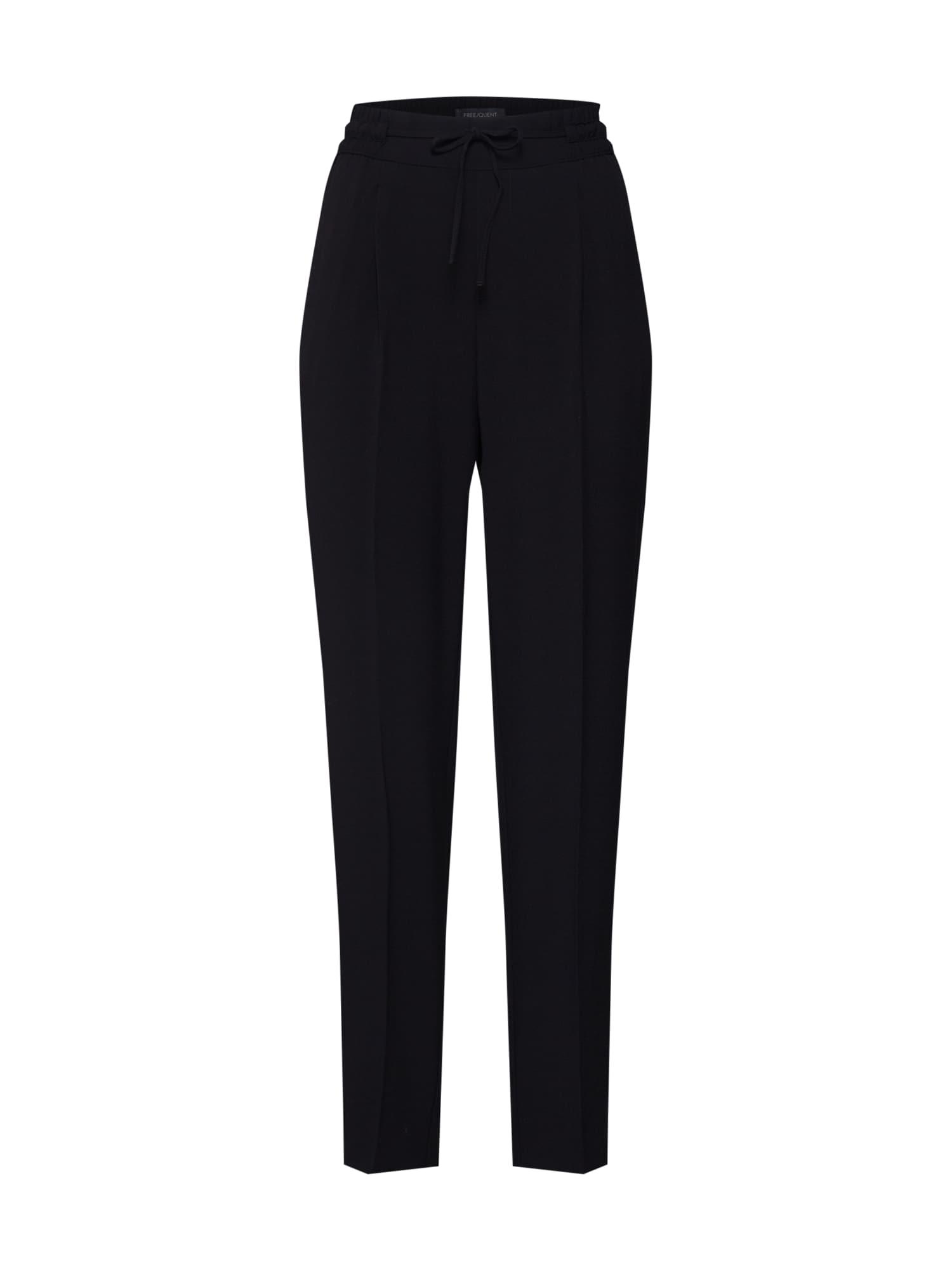 Freequent Chino stiliaus kelnės 'FQLIZY-PA' juoda