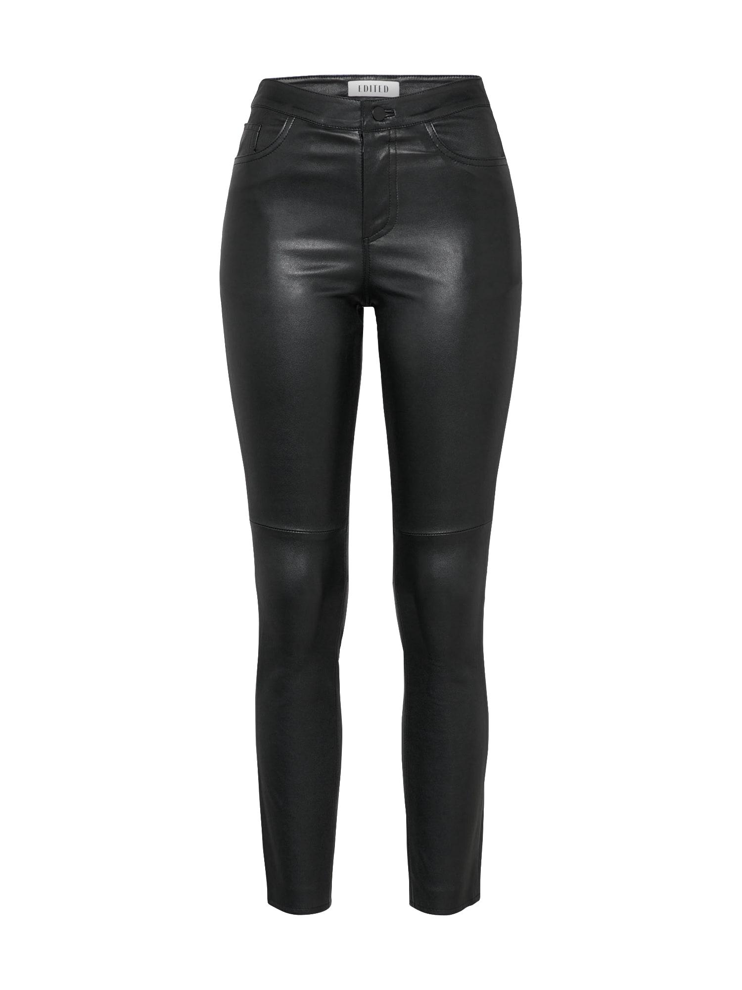 Kalhoty Estella černá EDITED
