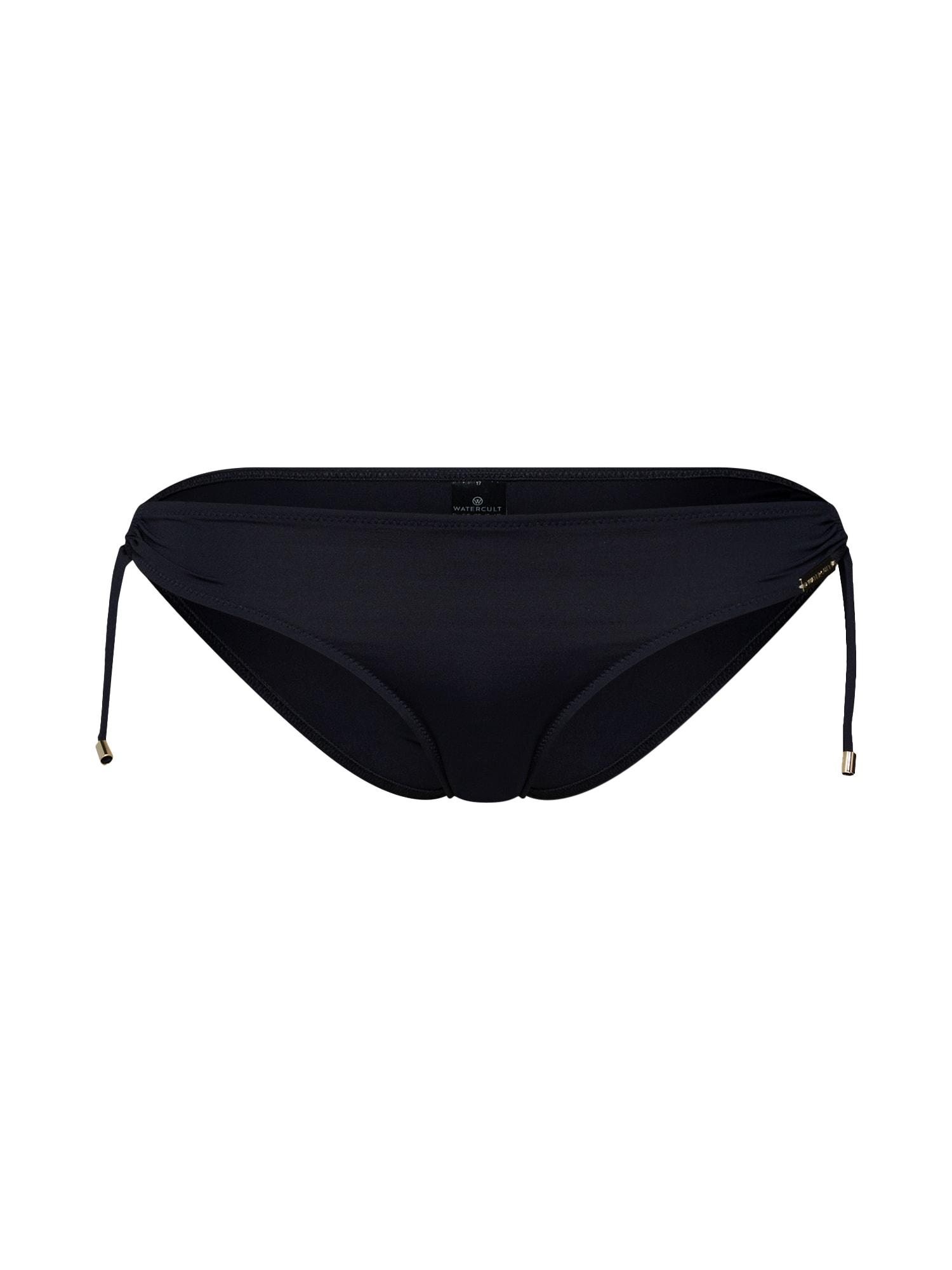 Spodní díl plavek černá Watercult