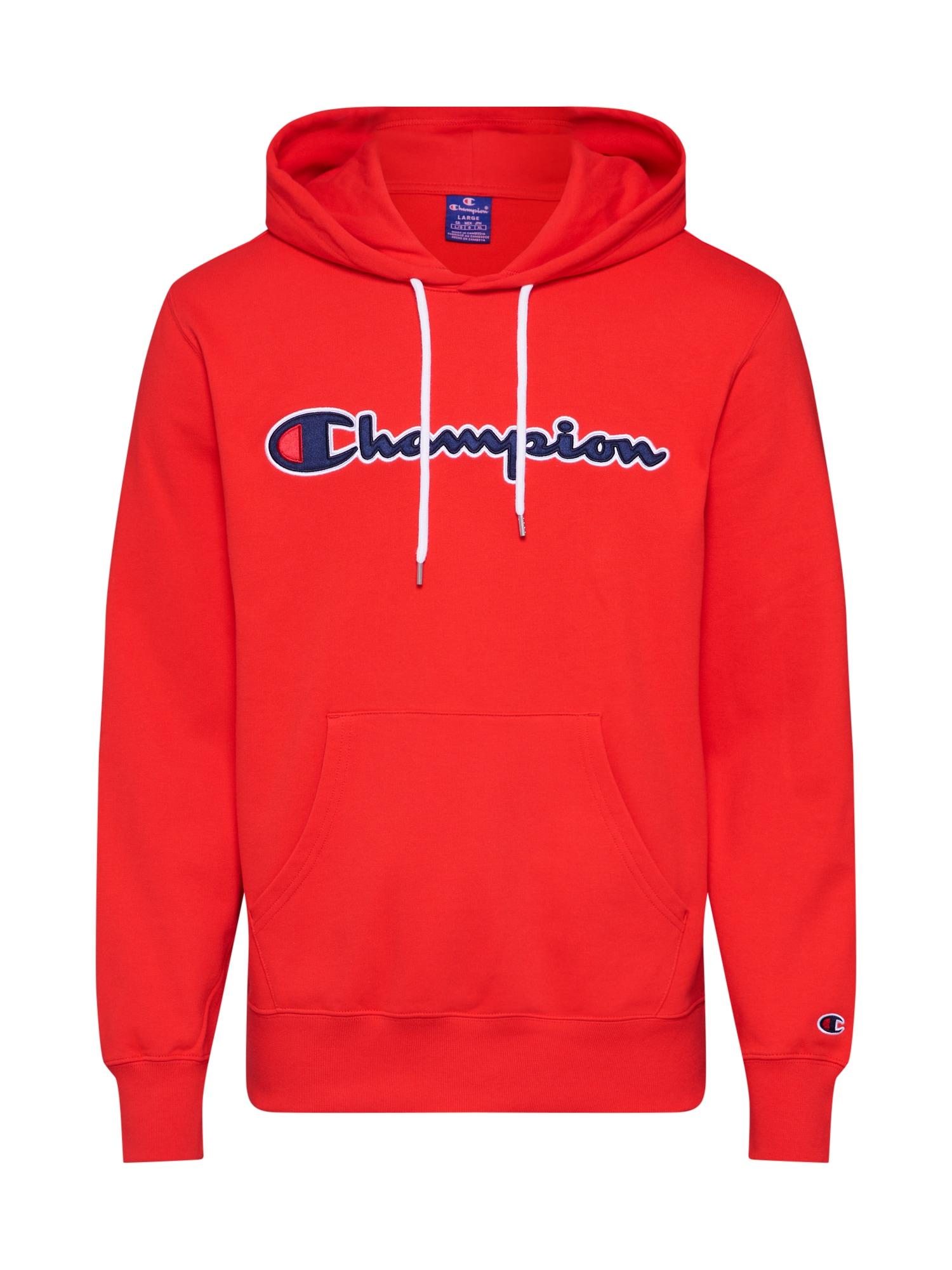 Champion Authentic Athletic Apparel Megztinis be užsegimo raudona