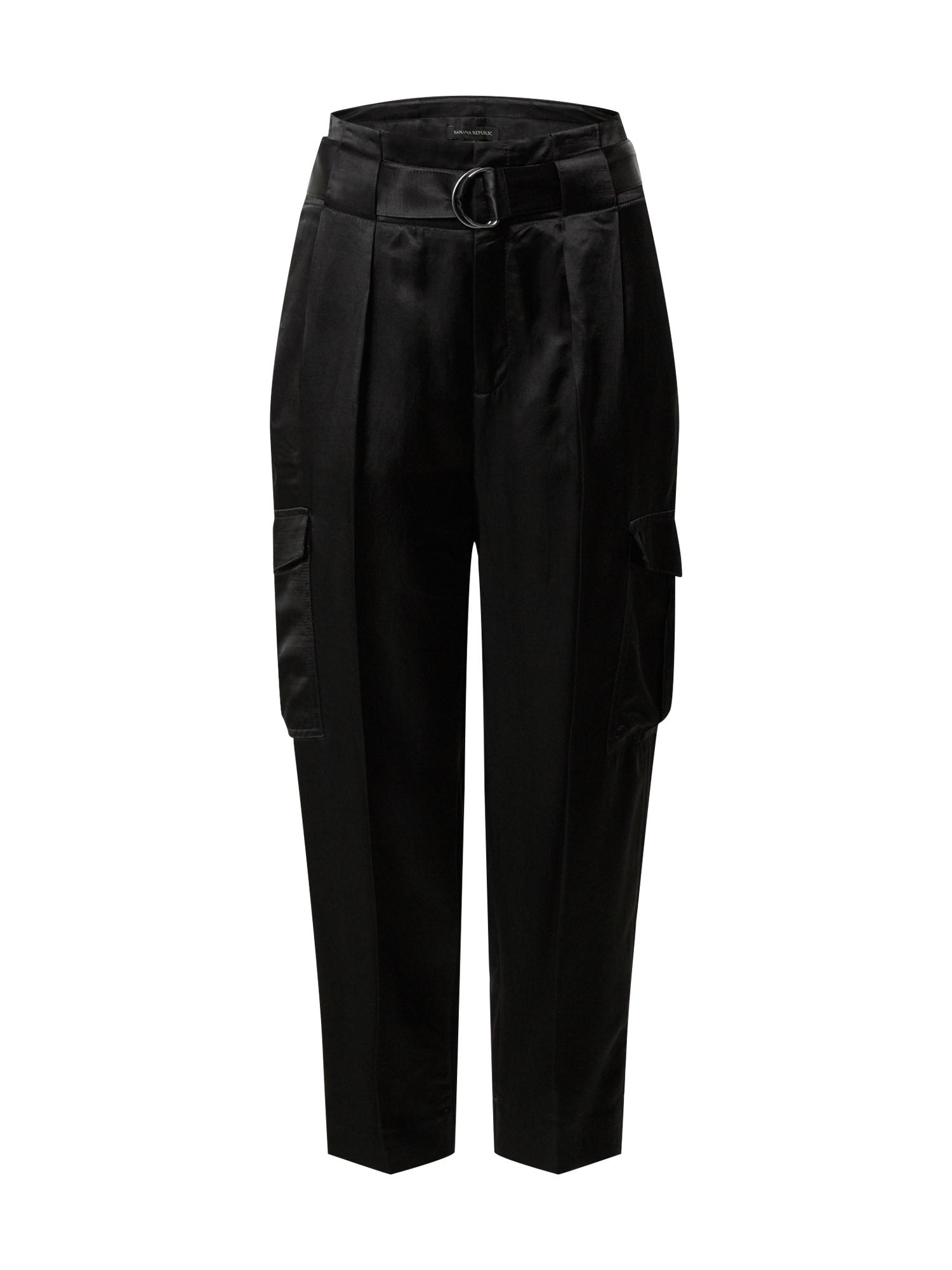 Banana Republic Laisvo stiliaus kelnės juoda