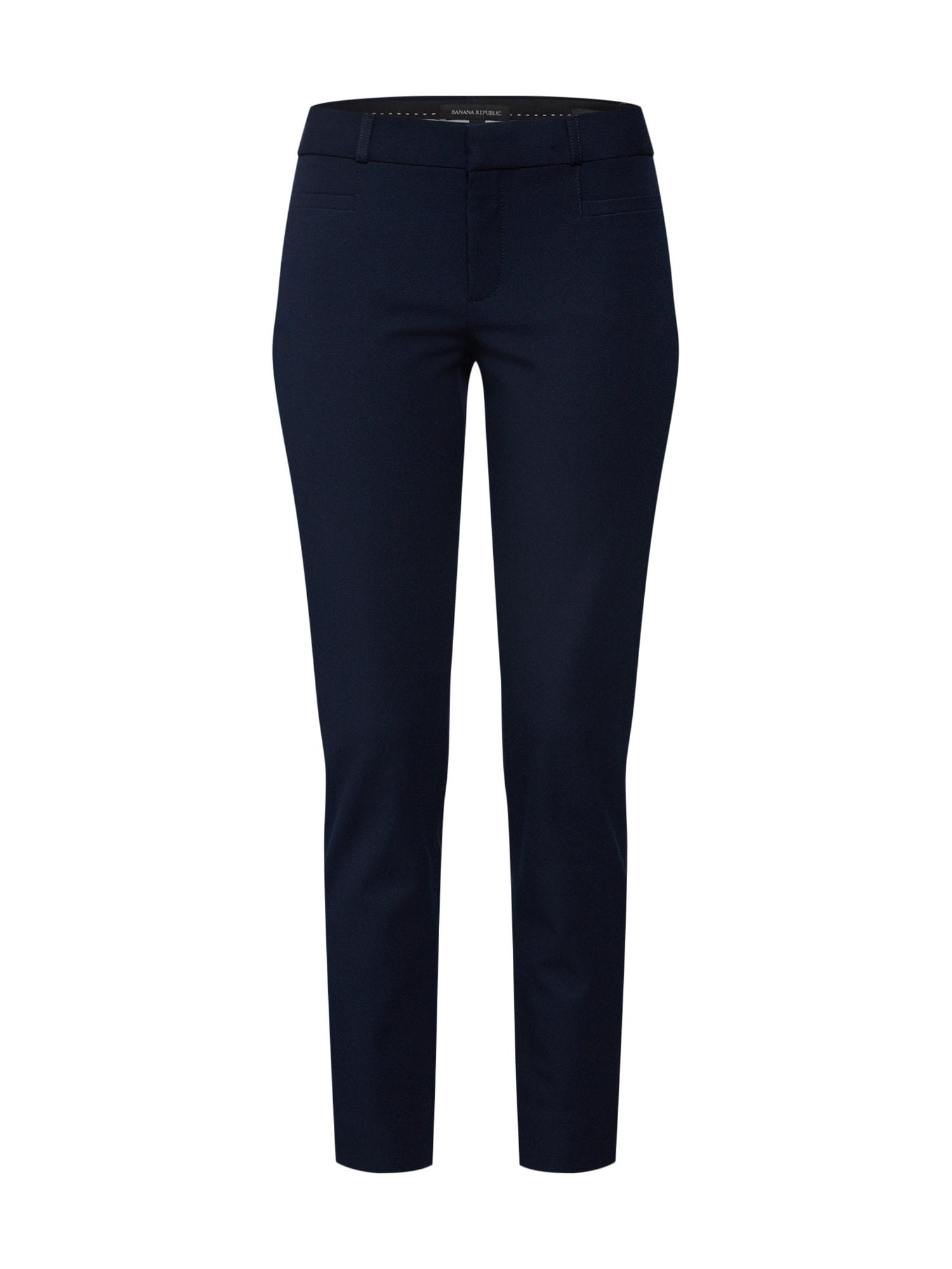 Banana Republic Chino stiliaus kelnės 'Sloan Solids' tamsiai mėlyna