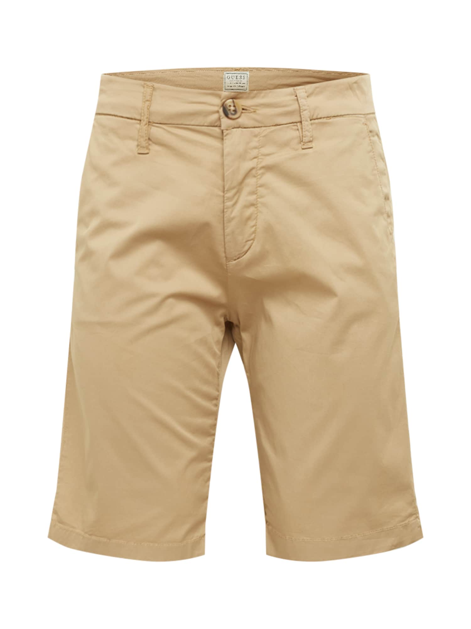 GUESS Chino stiliaus kelnės 'MYRON' smėlio
