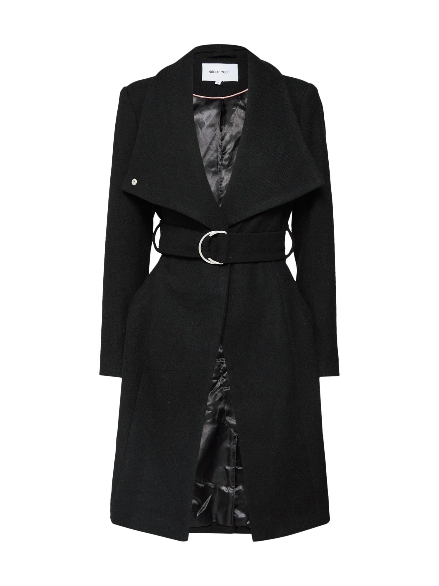 ABOUT YOU Rudeninis-žieminis paltas 'Alma' juoda