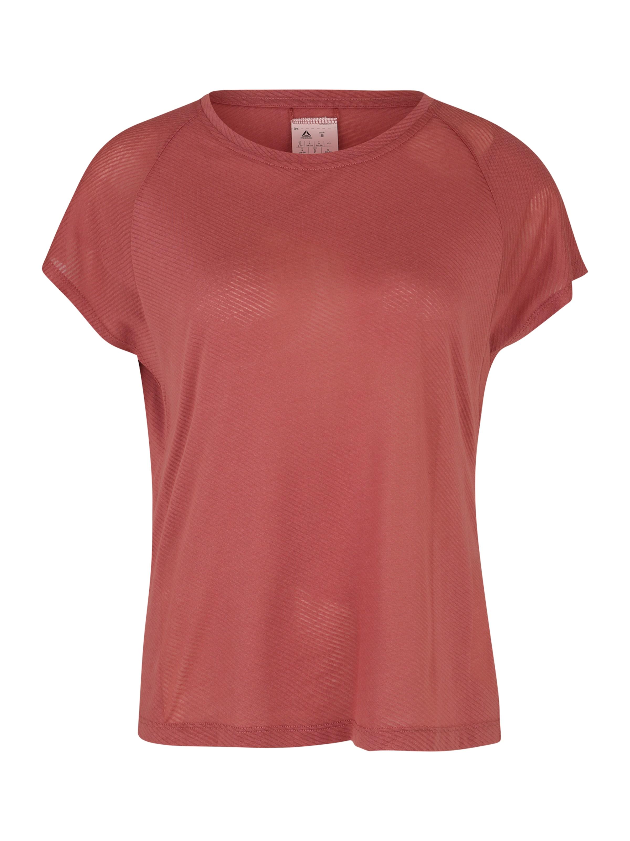 Damen Reebok Sportshirt rot | 04062049837180