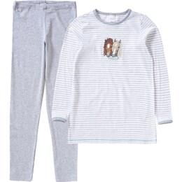 SCHIESSER Kinder,Mädchen,Mädchen,Kinder Schlafanzug für Mädchen Pferd weiß | 04007064724848