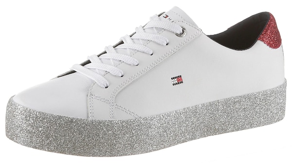 Sneakers für Frauen - Plateausneaker 'Jupiter 17A' › Tommy Hilfiger › weiß  - Onlineshop ABOUT YOU