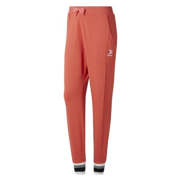 Hosen für Frauen - Pants › Reebok Classic › koralle schwarz naturweiß  - Onlineshop ABOUT YOU