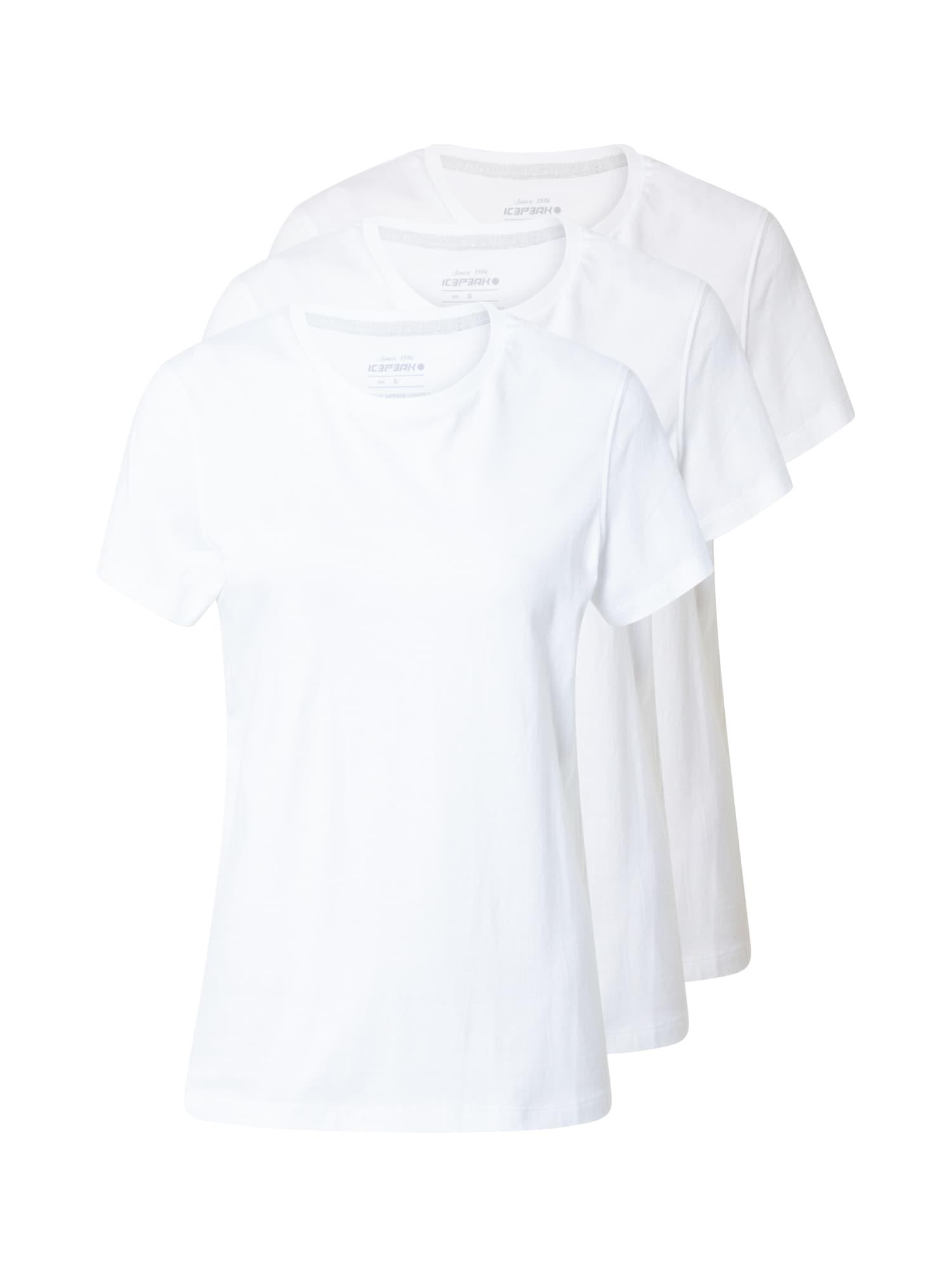 ICEPEAK Funkční tričko 'INGLIS'  bílá