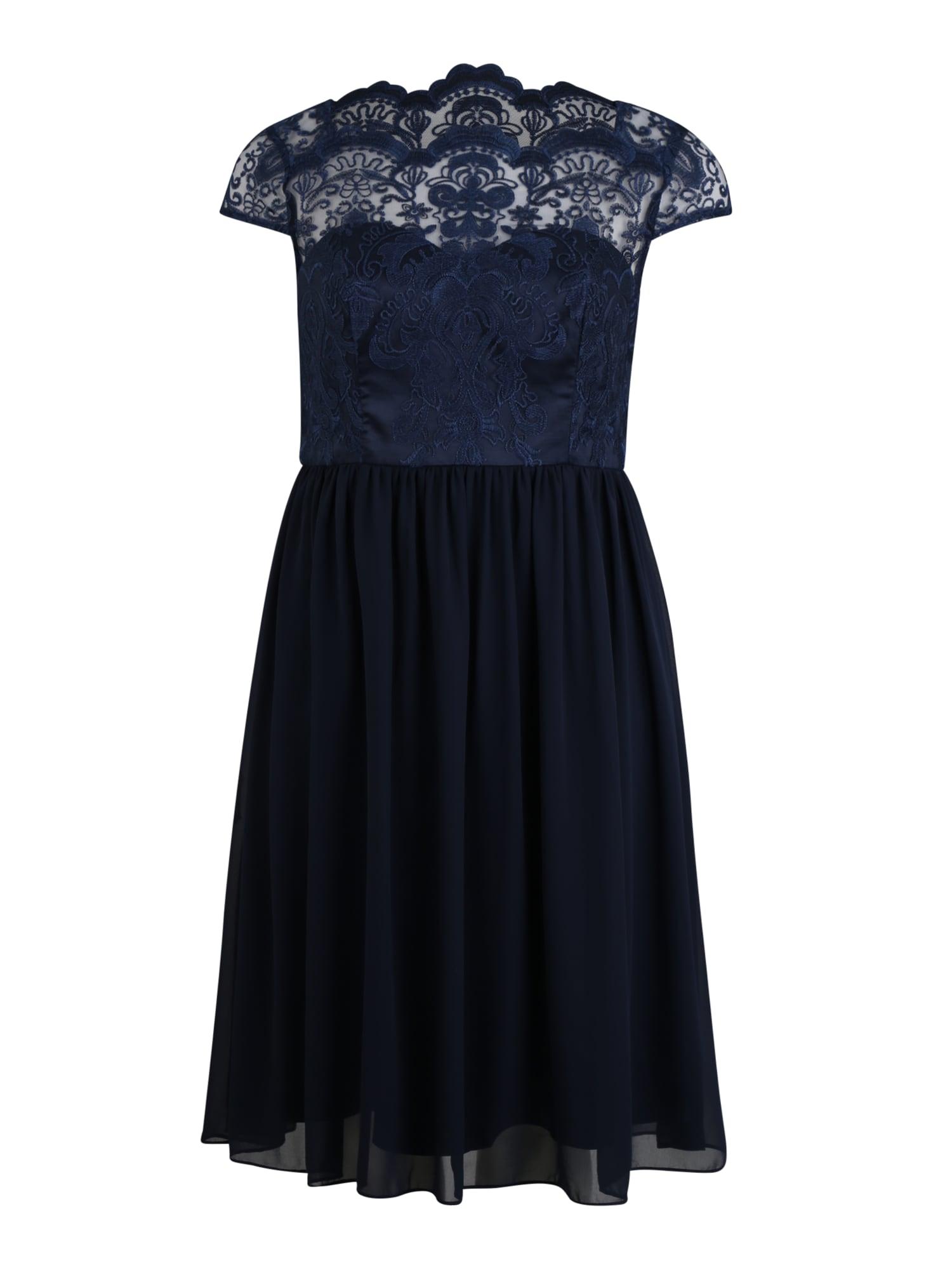Chi Chi Curve Kokteilinė suknelė 'Lilou' tamsiai mėlyna