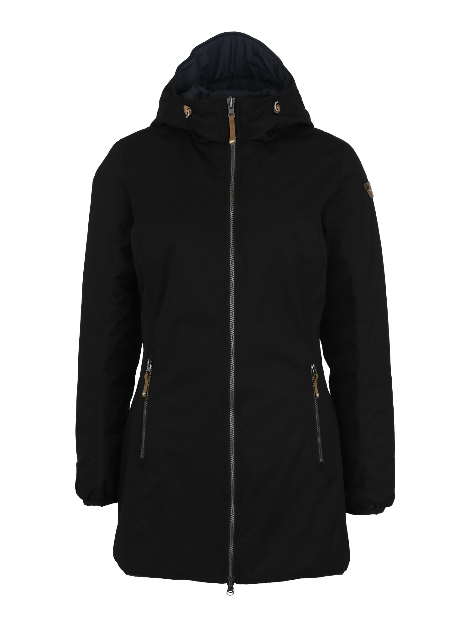 Outdoorový kabát černá ICEPEAK