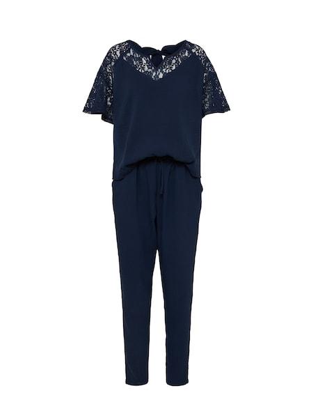 Hosen für Frauen - Jumpsuit 'Conny' › Cream › navy  - Onlineshop ABOUT YOU