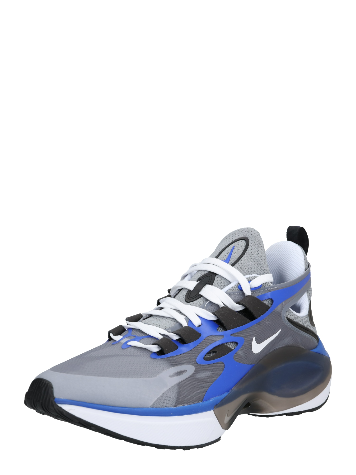 Nike Sportswear Nízke tenisky 'NIKE SIGNAL D/MS/X'  sivá / modré