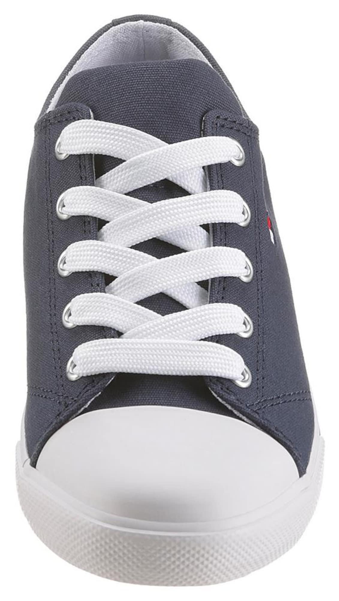 TOMMY HILFIGER Baskets  bleu denim / blanc