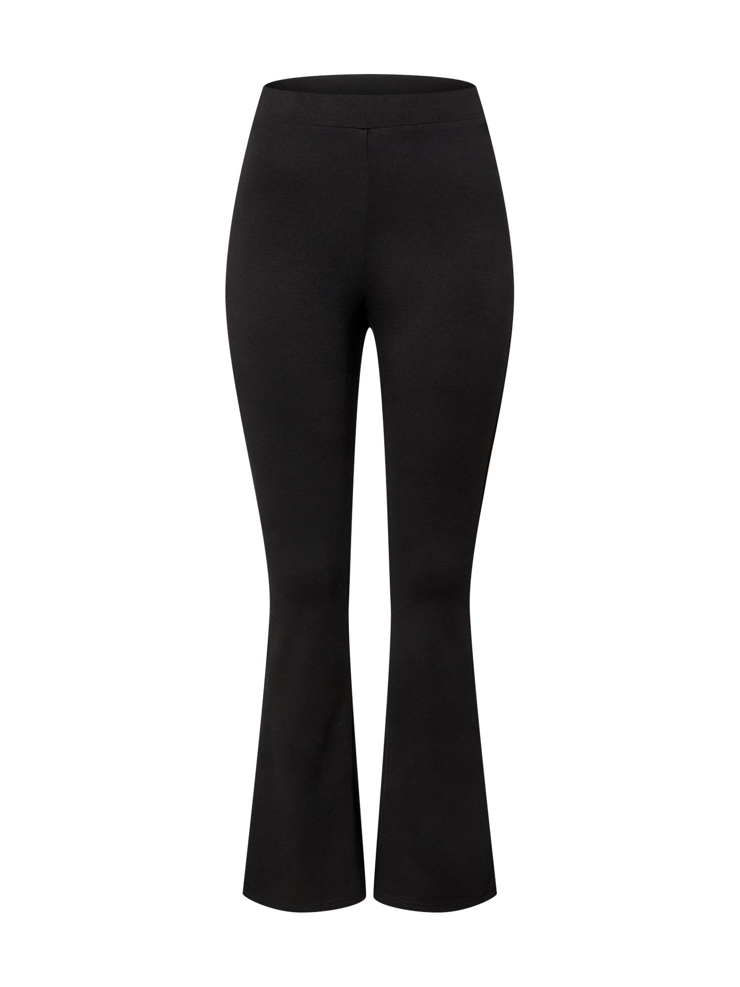 Dorothy Perkins Nohavice 'Black Ponte Flare Trouser'  čierna