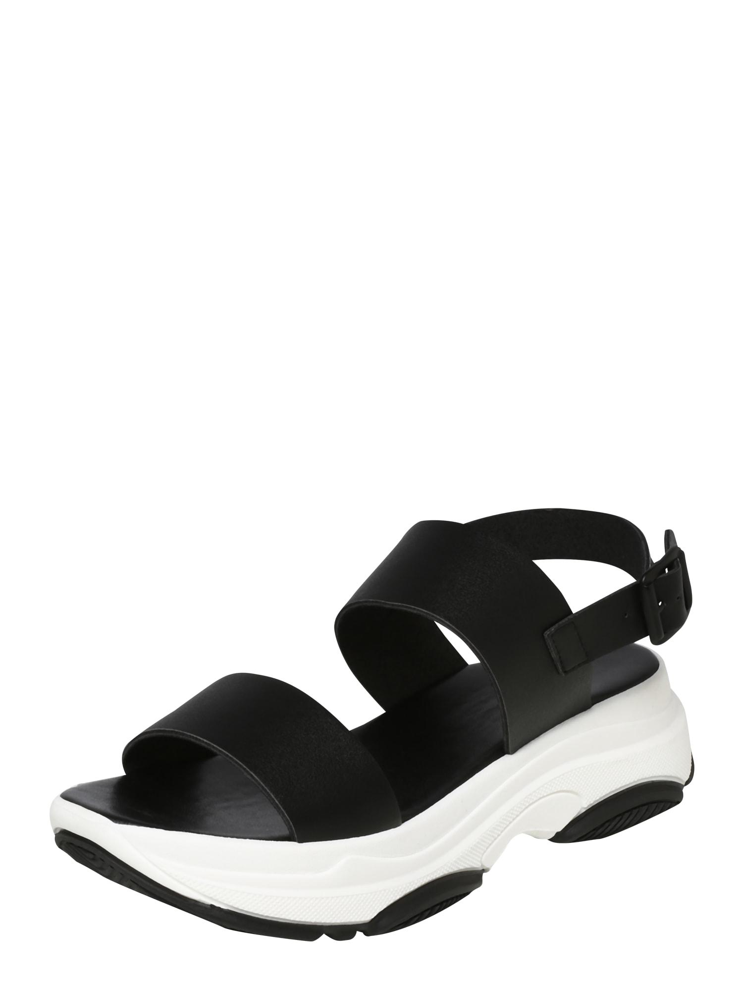 Páskové sandály Biaalia černá Bianco