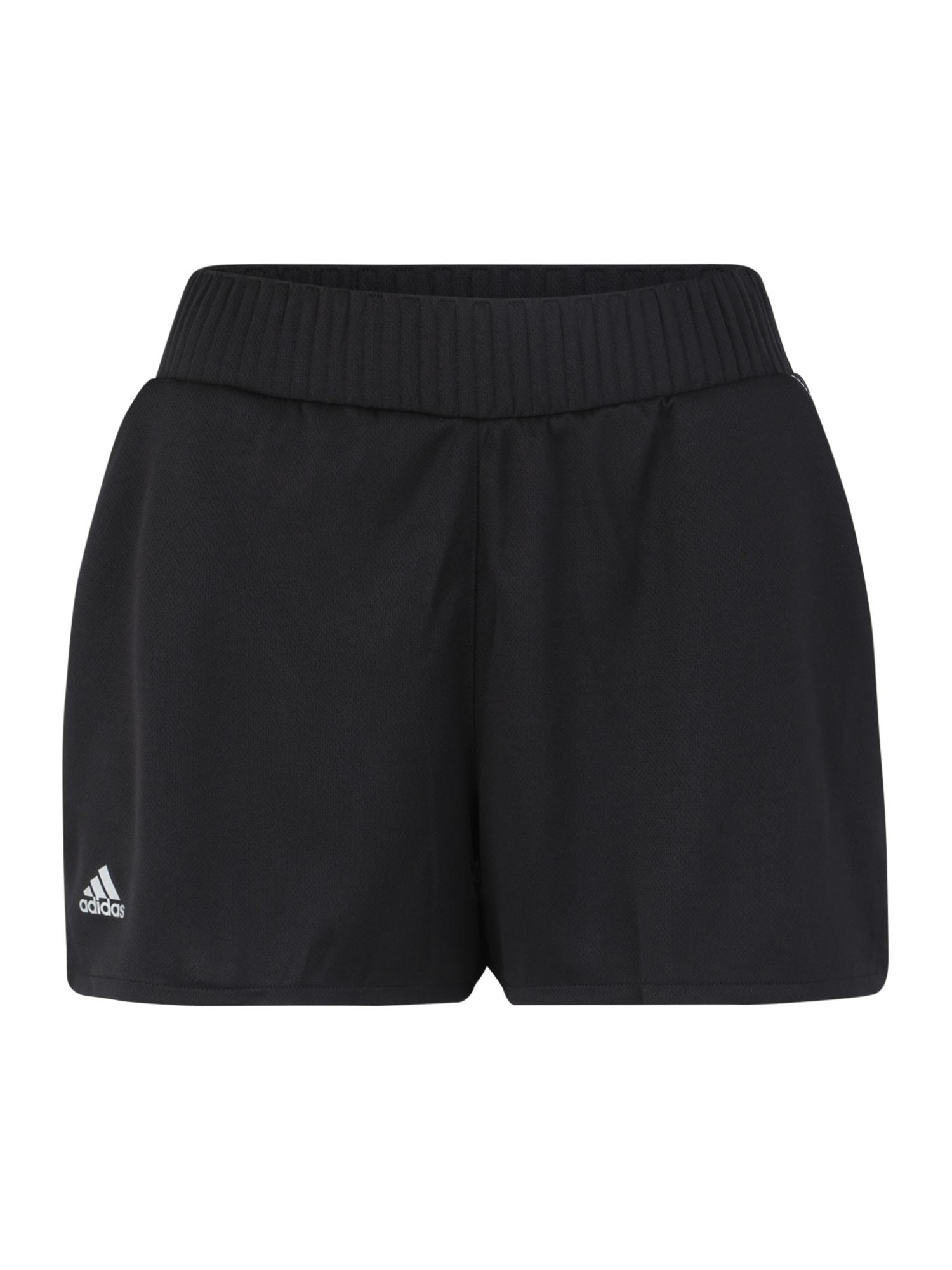 ADIDAS PERFORMANCE Sportinės kelnės 'CLUB HR SHORT' juoda