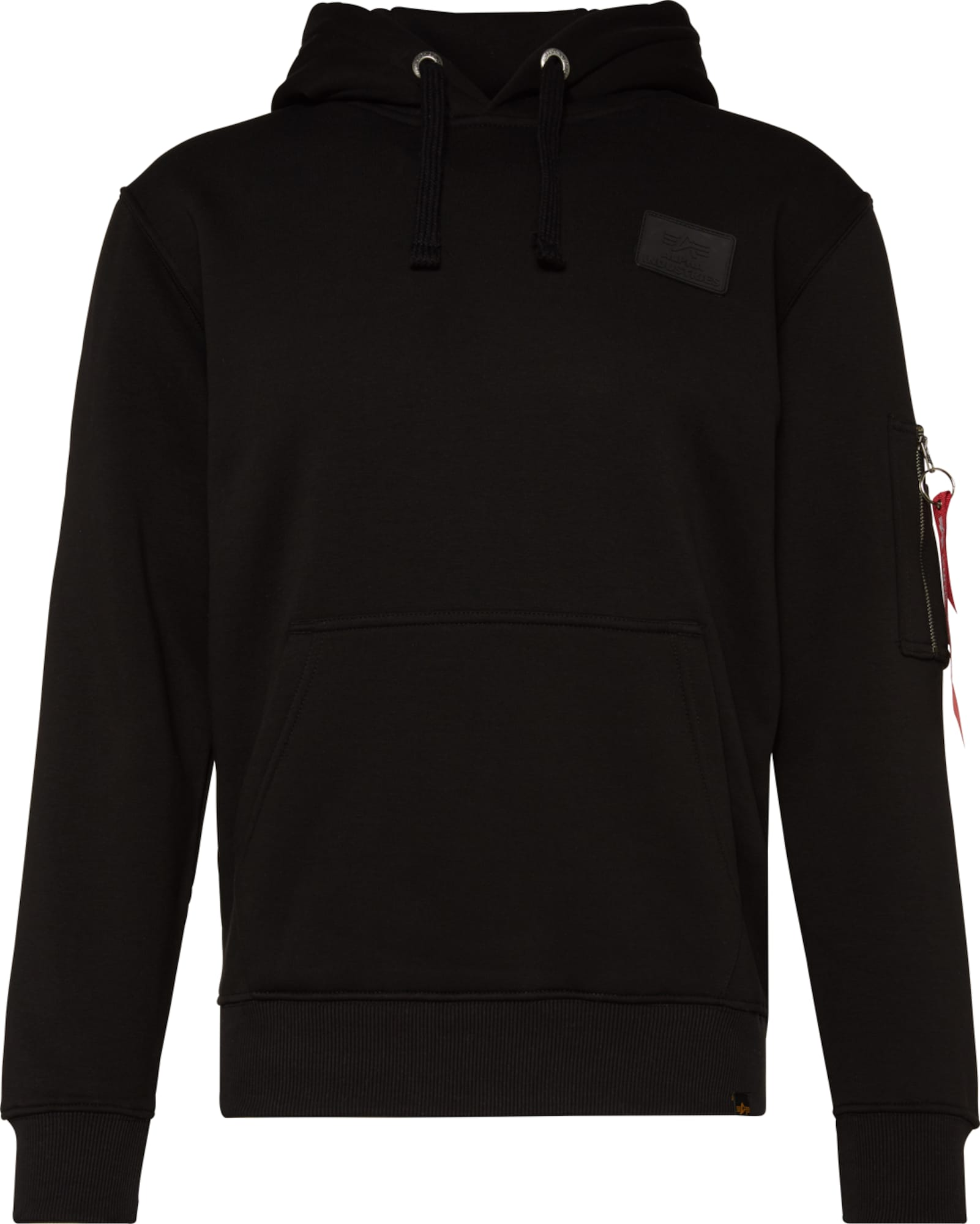 alpha industries pullover in schwarz about you. Black Bedroom Furniture Sets. Home Design Ideas