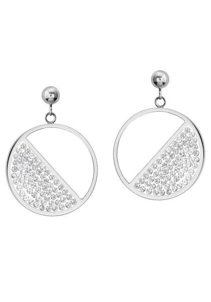 Ohrringe für Frauen - S.Oliver RED LABEL Ohrstecker '2024272' grau  - Onlineshop ABOUT YOU