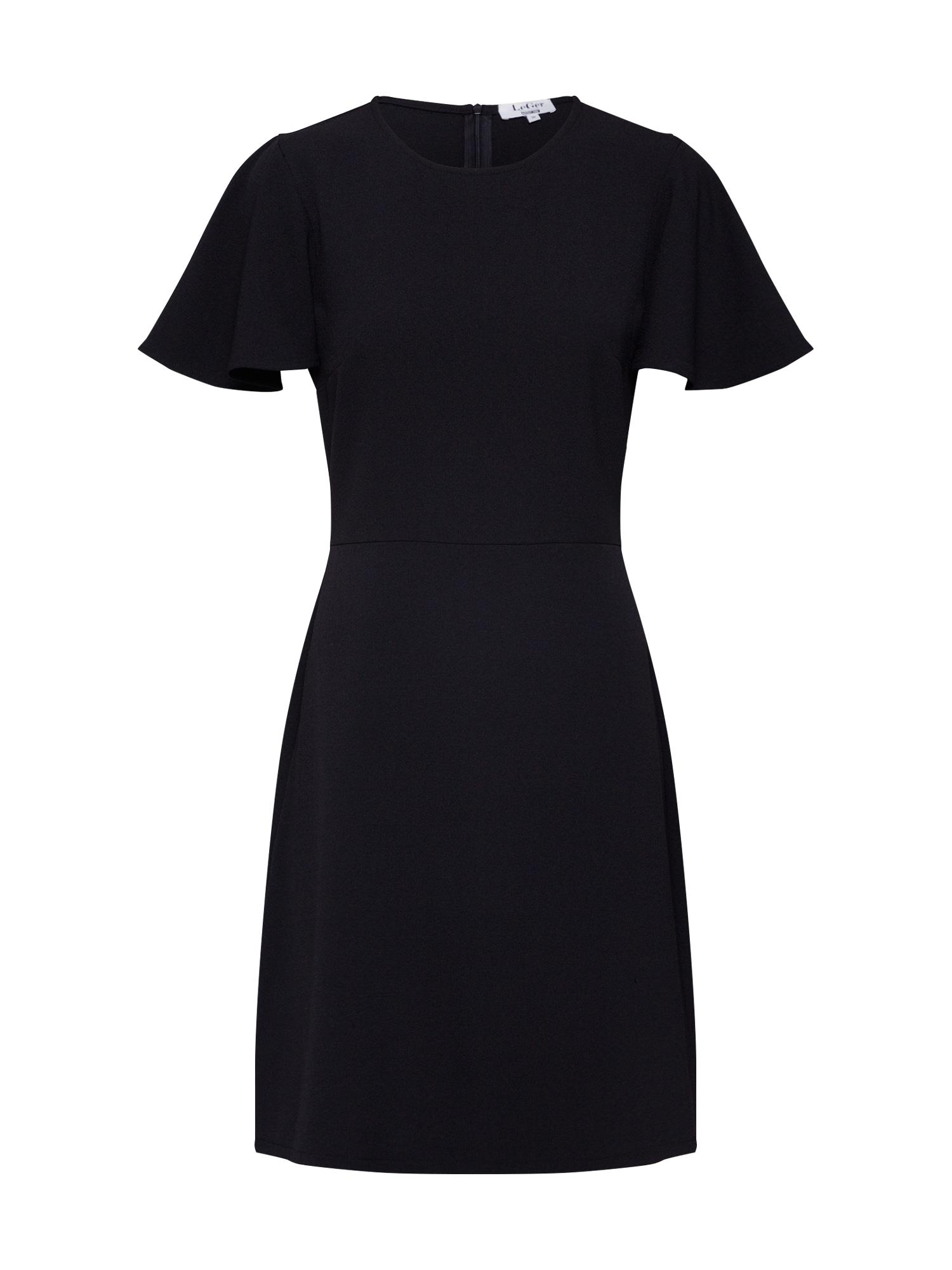 LeGer by Lena Gercke Kokteilové šaty 'Finja'  čierna