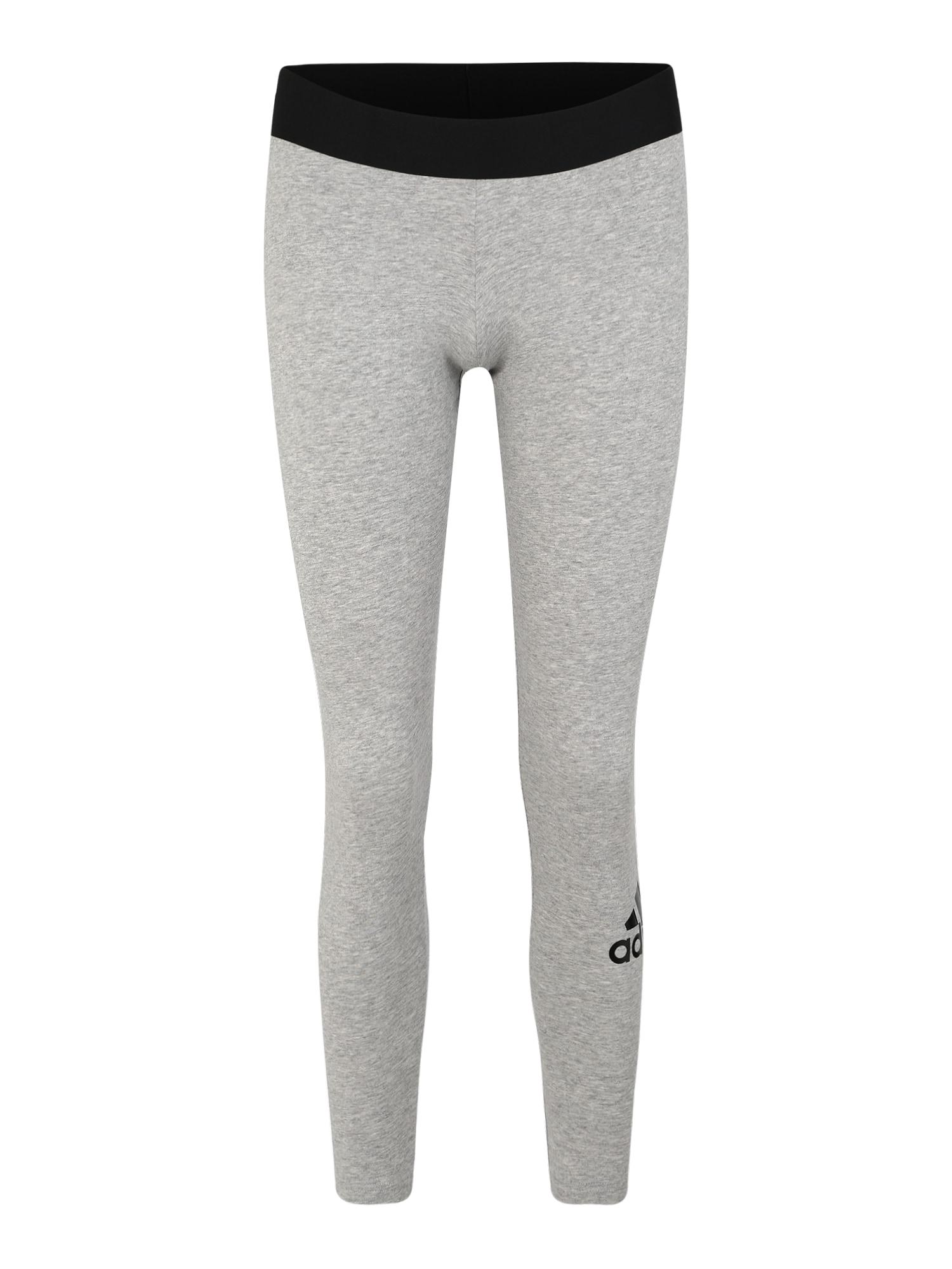 Sportovní kalhoty světle šedá ADIDAS PERFORMANCE