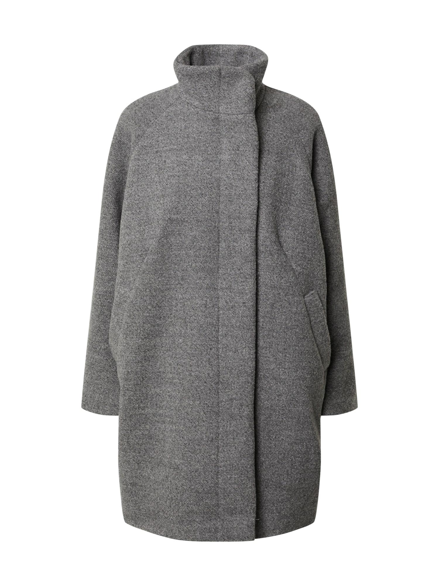 Samsoe Samsoe Prechodný kabát 'Hoffa'  sivá melírovaná