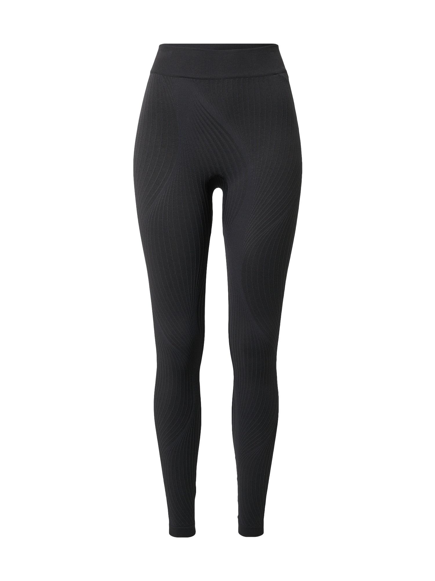 ODLO Športové nohavice 'Pure Ceramiwarm'  čierna