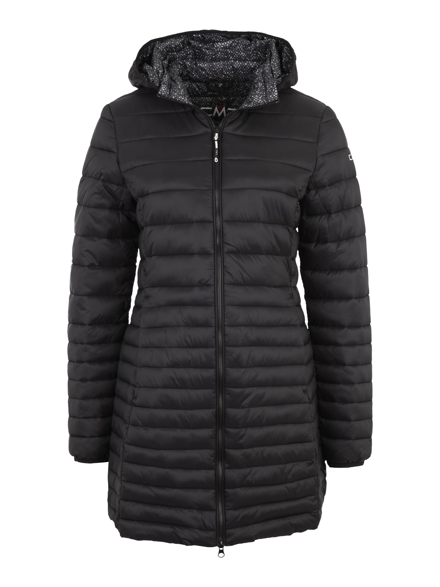 CMP Laisvalaikio paltas 'FIX HOOD' juoda