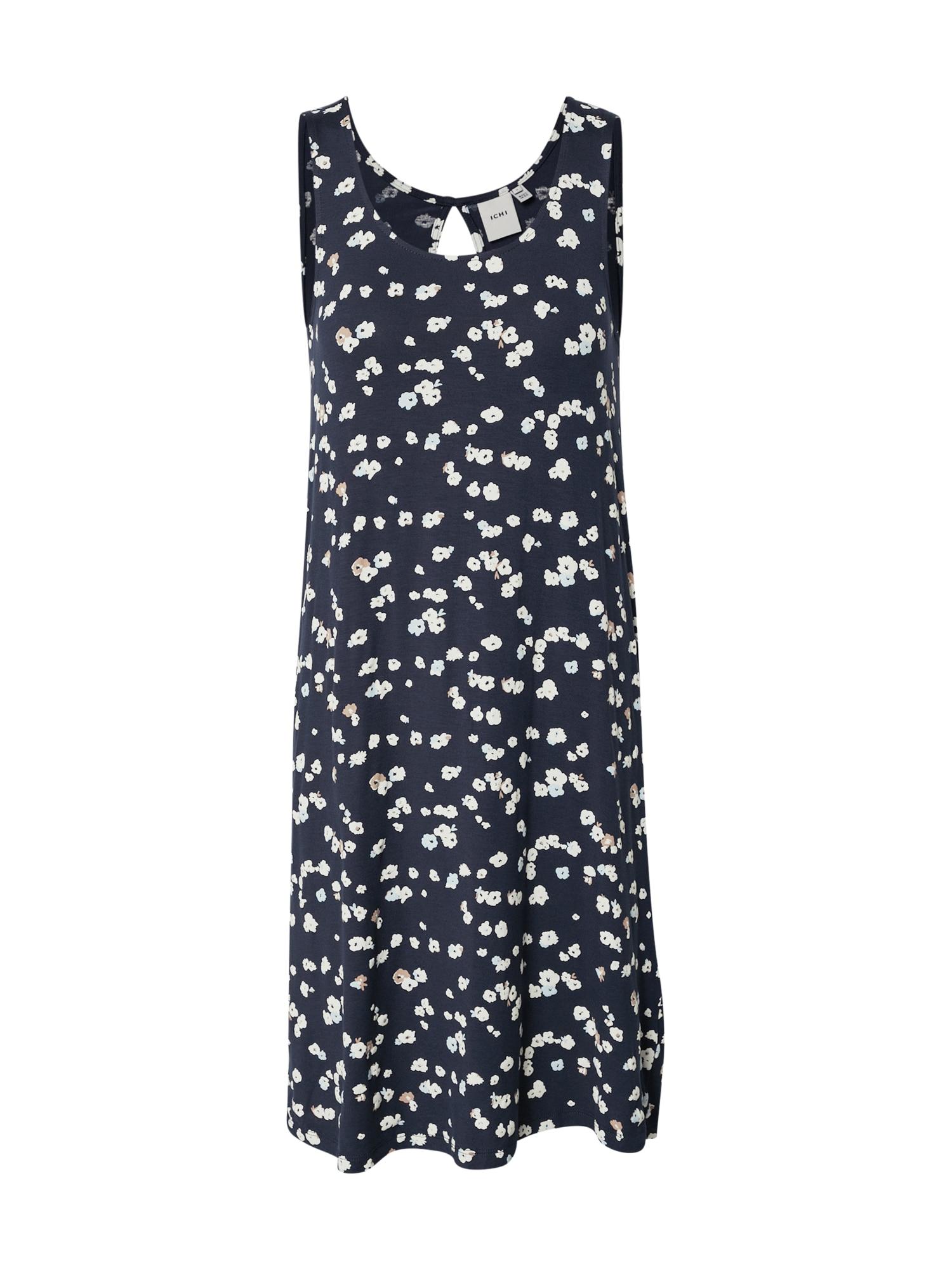 ICHI Letní šaty 'IHLISA DR7'  modrá