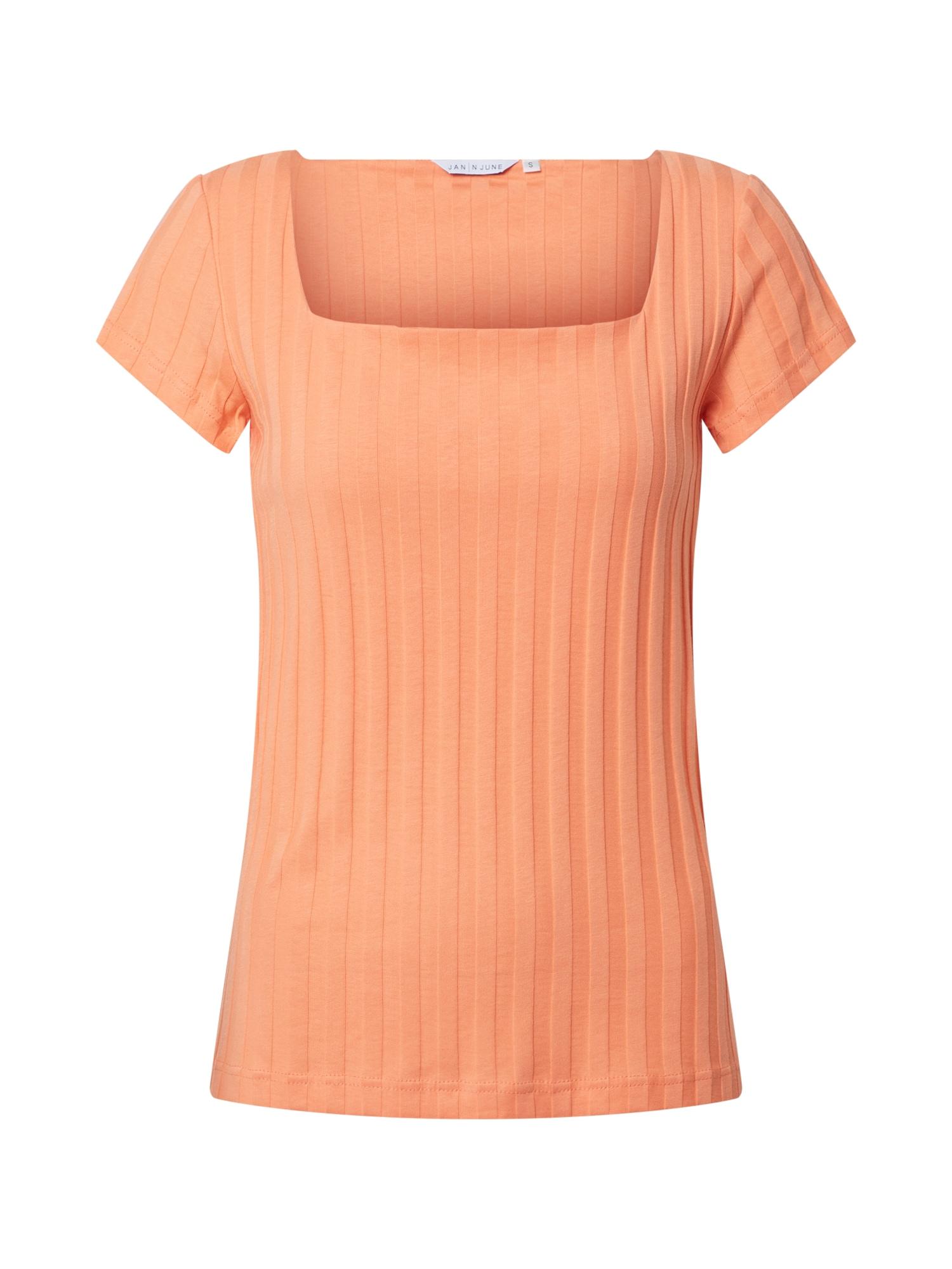 JAN 'N JUNE Tričko 'ARIMA'  oranžová