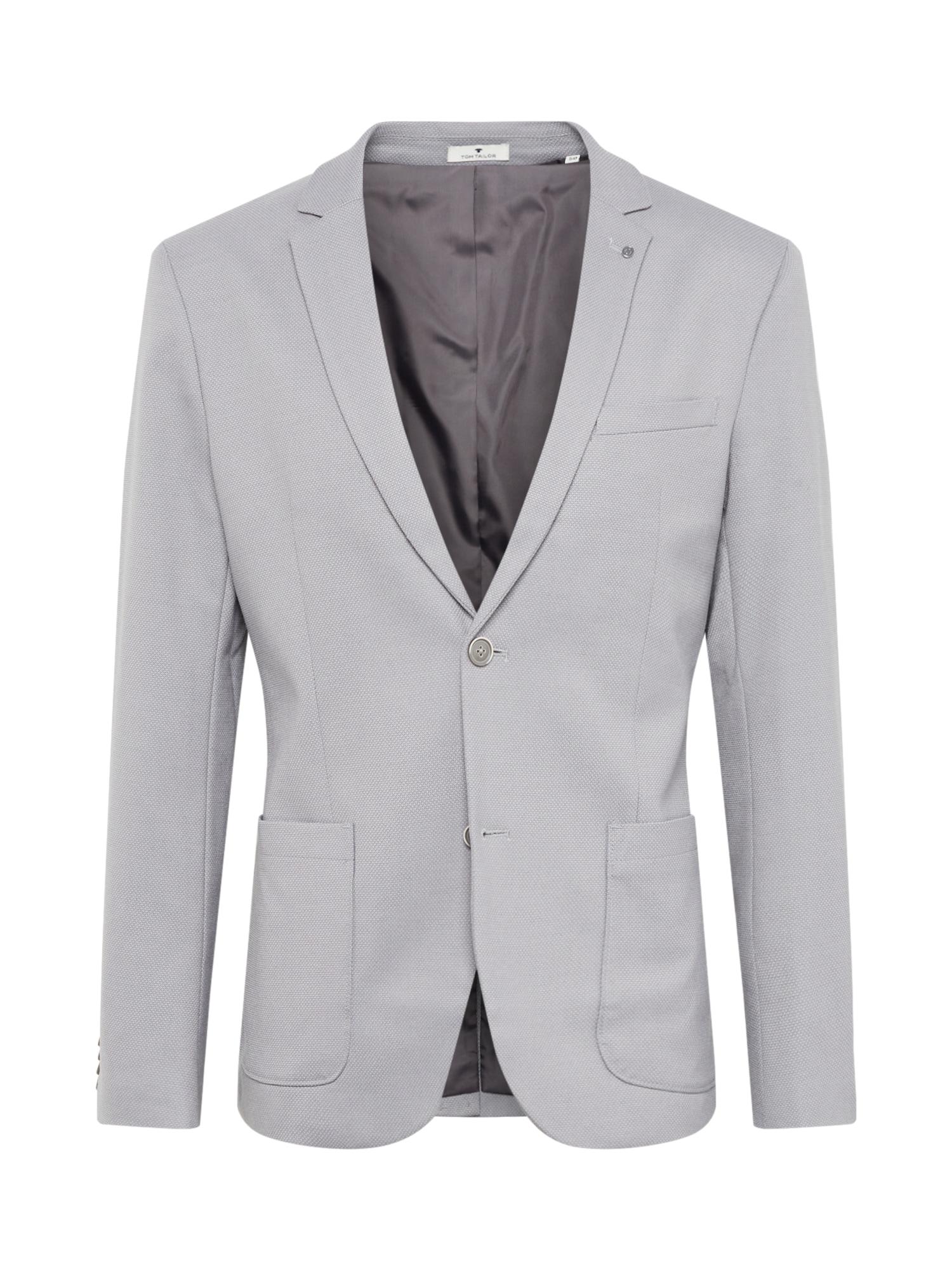 TOM TAILOR Oblek  sivá