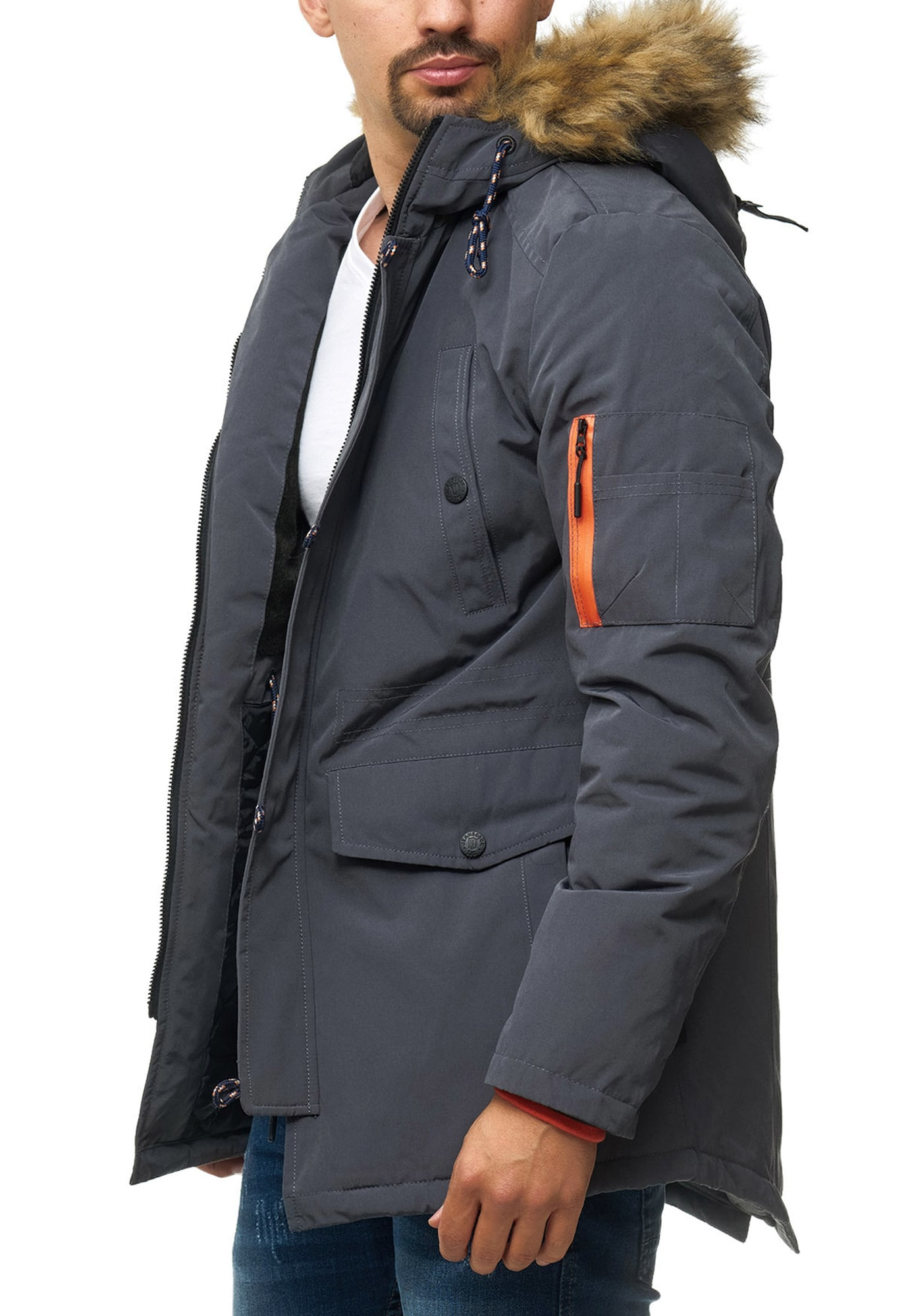 Winterparka 'Leicester' INDICODE JEANS