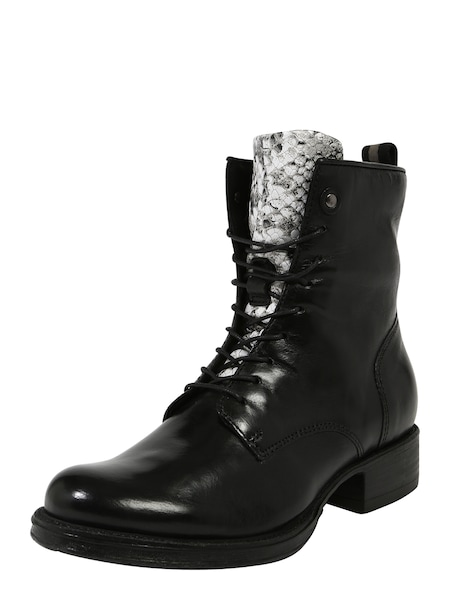 Stiefel - Schnürstiefel › MJUS › grau schwarz weiß  - Onlineshop ABOUT YOU