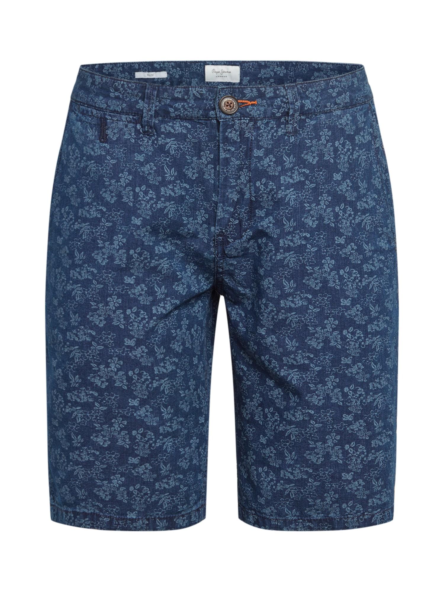 Pepe Jeans Kelnės indigo spalva