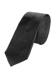 S.Oliver,S.Oliver BLACK LABEL,s.Oliver Herren tteTonig gemusterte Krawatte schwarz | 04059502483152