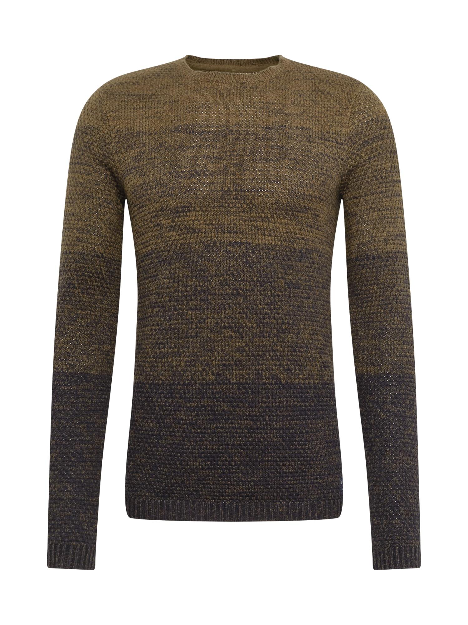 BLEND Megztinis alyvuogių spalva