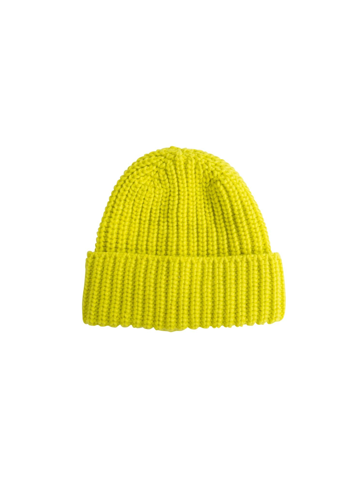 EDITED Megzta kepurė 'Grethe' geltona