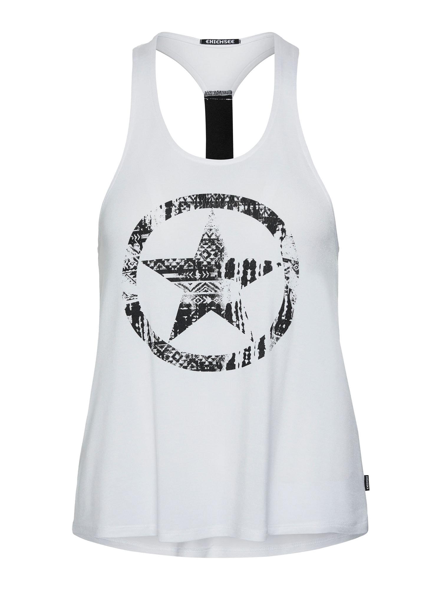 CHIEMSEE Sportiniai marškinėliai be rankovių balta