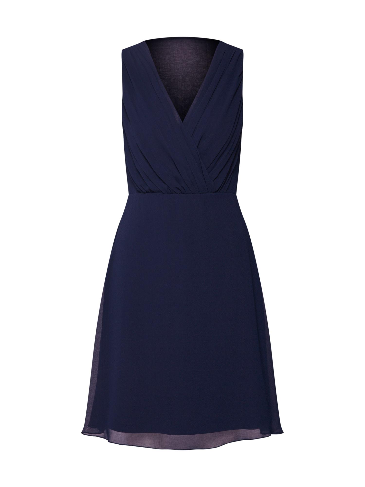 VILA Koktejlové šaty 'Vialli'  námořnická modř