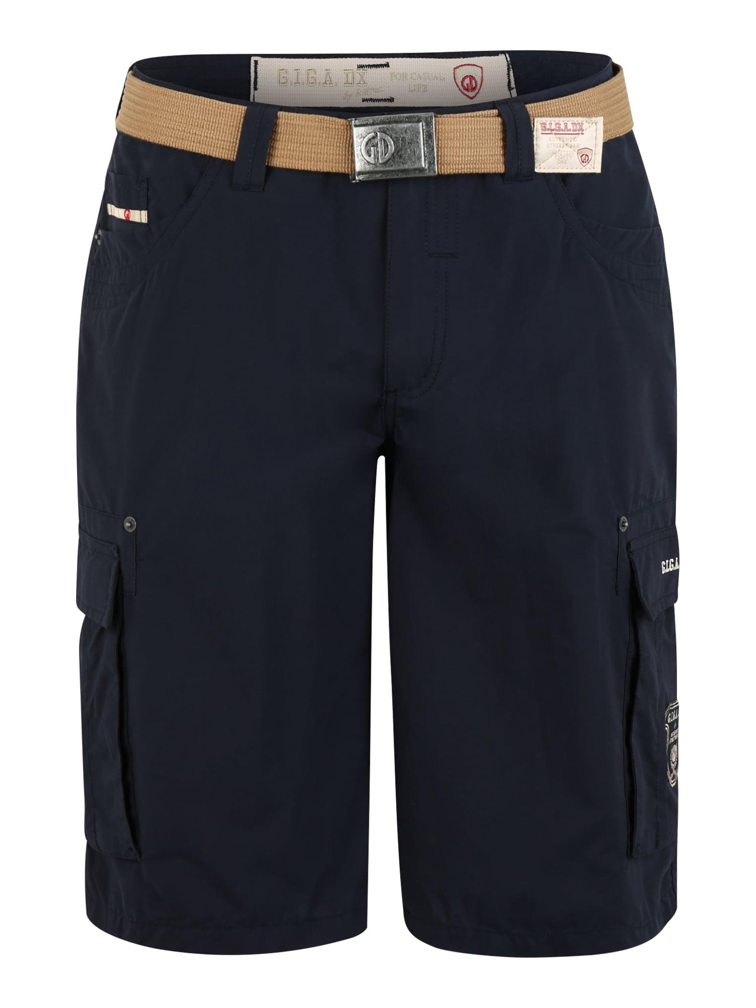 G.I.G.A. DX by killtec Sportinės kelnės 'Glenn' tamsiai mėlyna