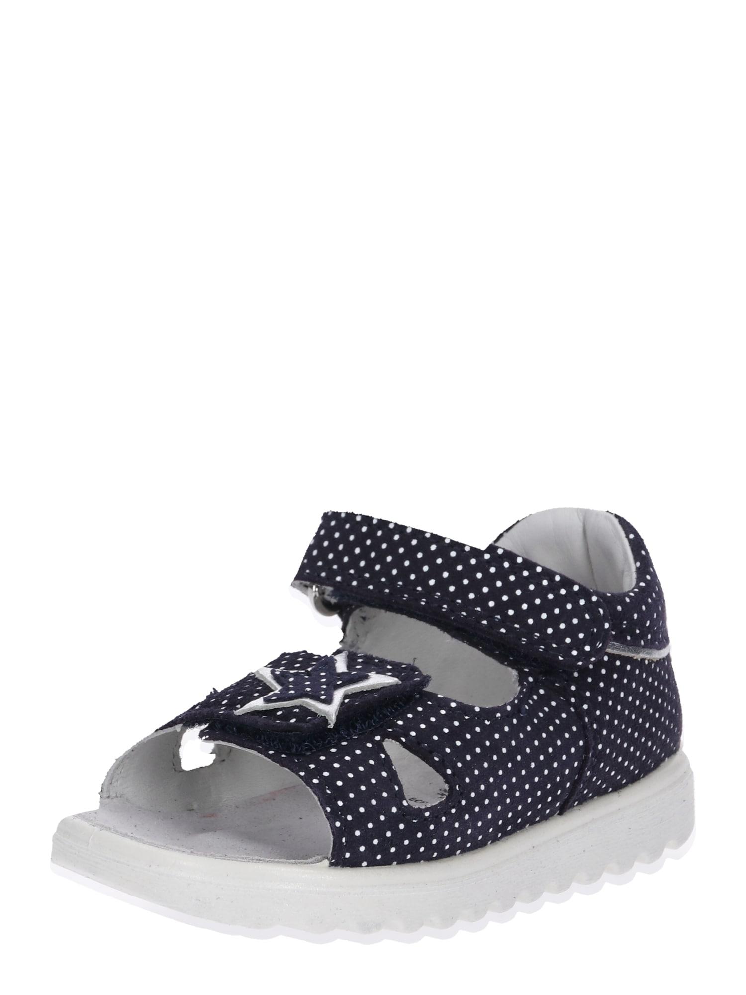 Otevřená obuv Lettie tmavě modrá bílá SUPERFIT