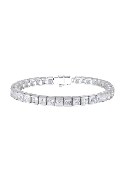Armbaender - Kristall Tennisarmband › ELLI PREMIUM › silber  - Onlineshop ABOUT YOU