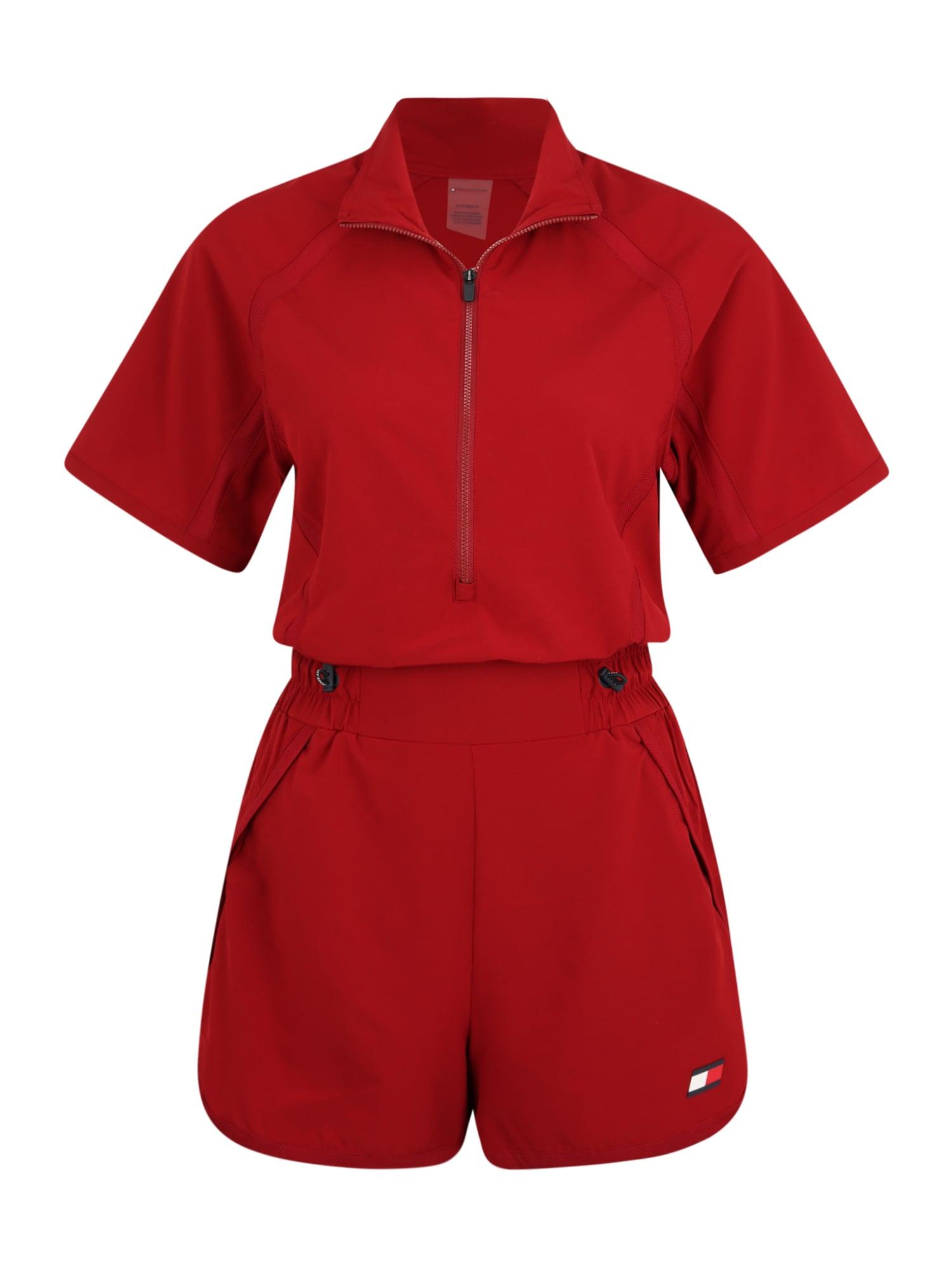 Tommy Sport Sportinis kostiumas raudona