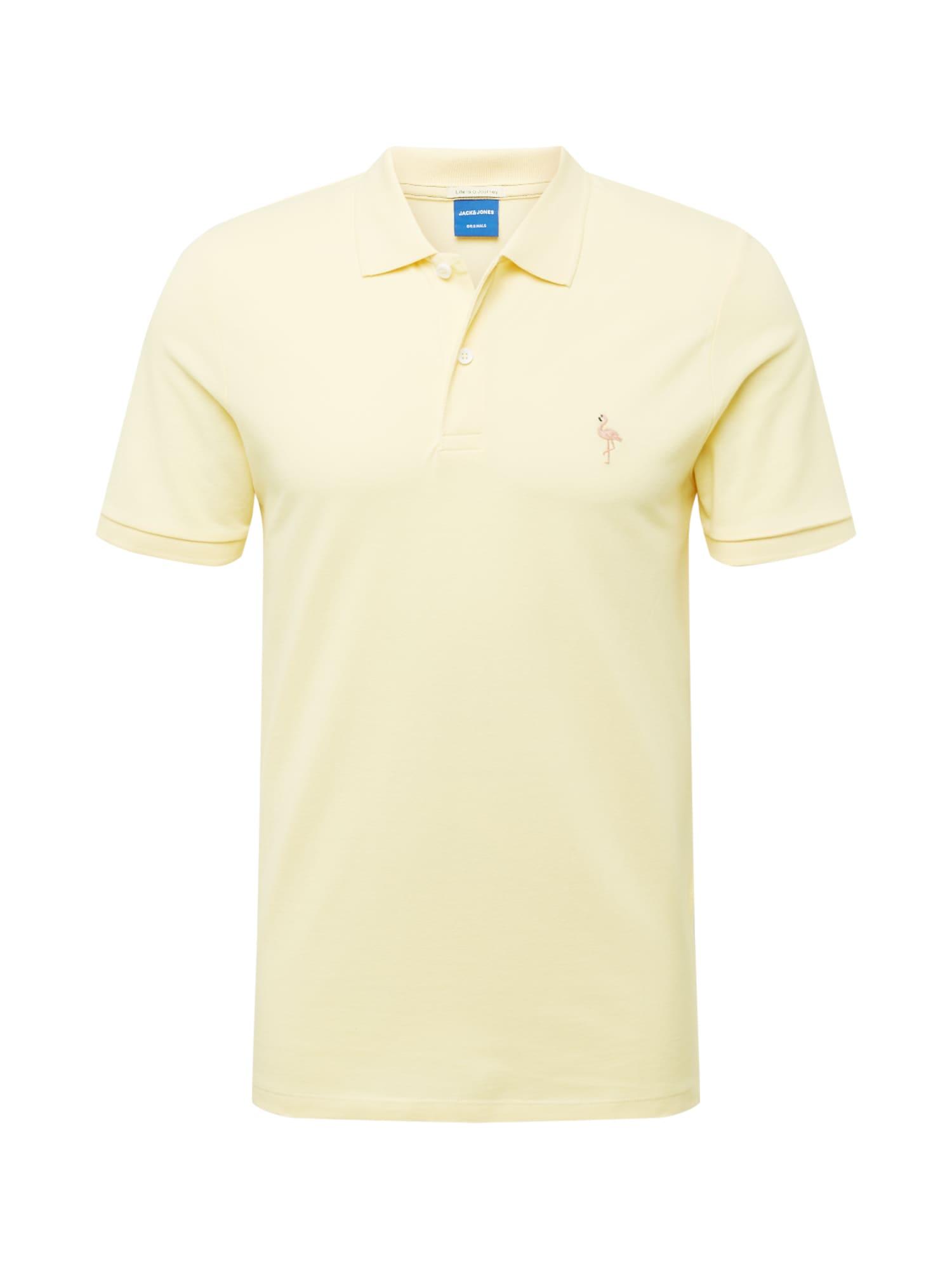 JACK & JONES Tričko 'COBANA'  žlutá
