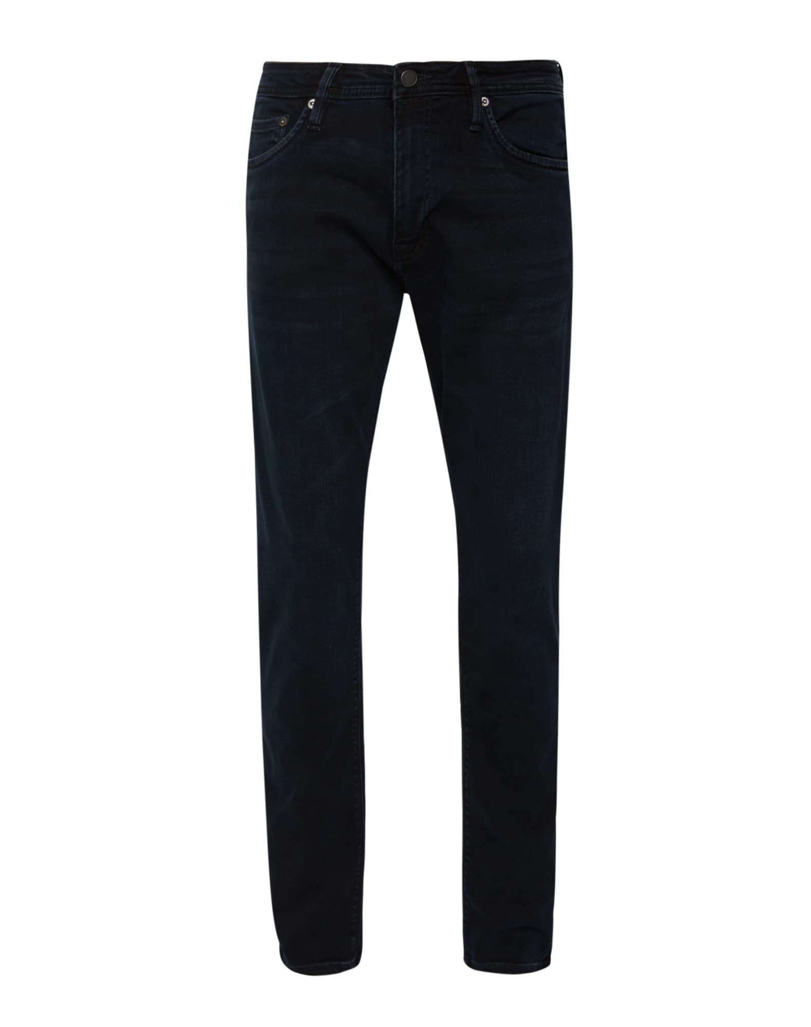 JACK & JONES Džinsai 'GLENN FELIX AM 458' juodo džinso spalva