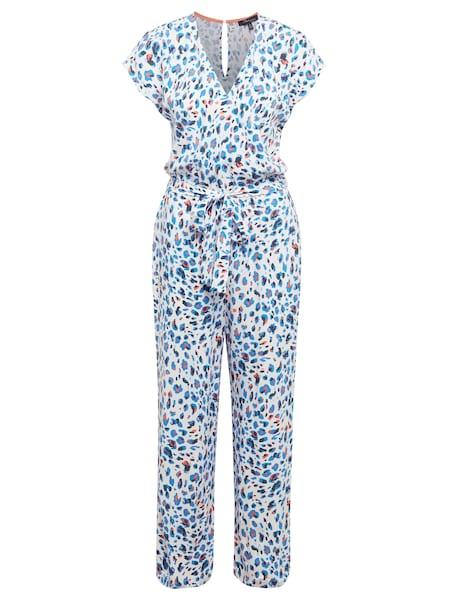 Hosen - Jumpsuit 'Leo' › Mavi › blau dunkelorange weiß  - Onlineshop ABOUT YOU