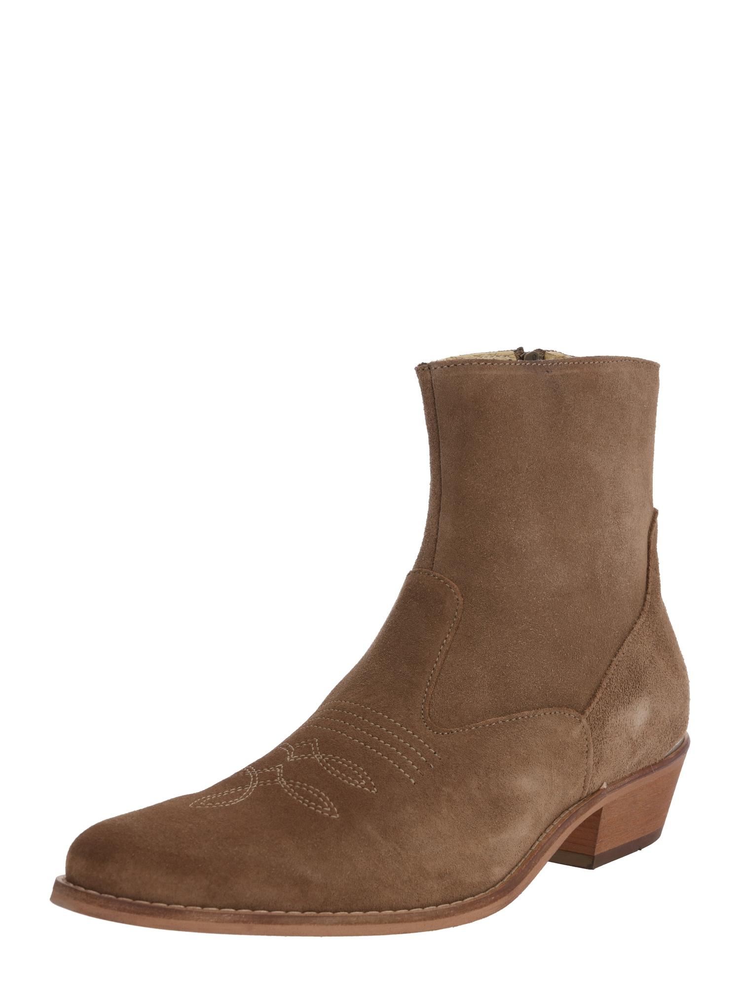 Shoe The Bear Kaubojiški batai 'ENZO' rausvai pilka
