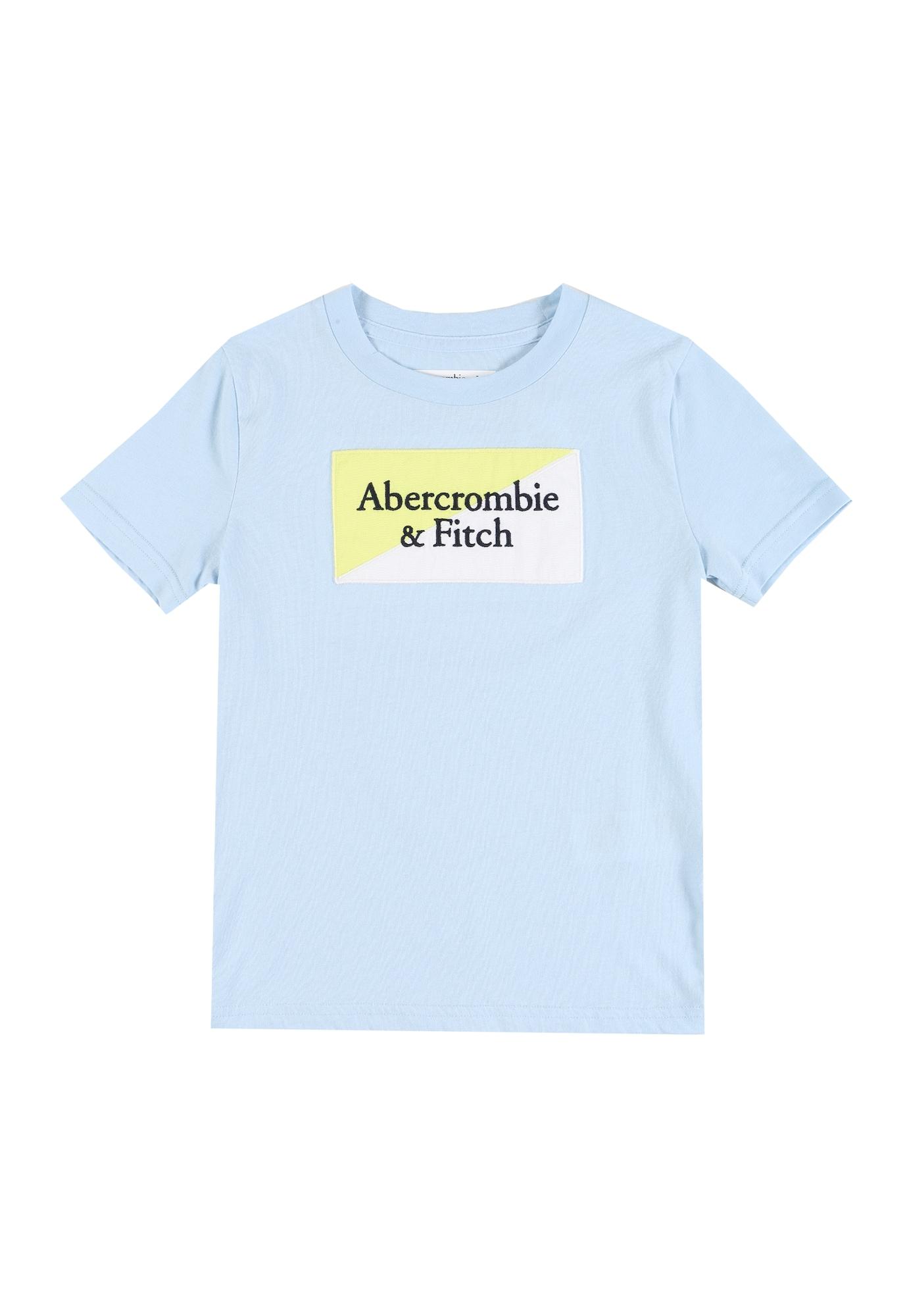 Abercrombie & Fitch Marškinėliai šviesiai mėlyna