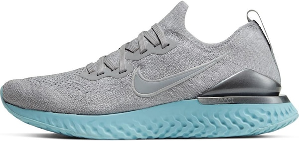 Sportschuhe - Laufschuhe 'Epic React Flyknit 2' › Nike › grau  - Onlineshop ABOUT YOU